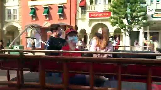 Disneyland reopens after pandemic shutdown