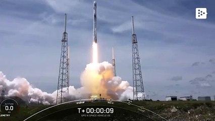 SpaceX reutiliza un Falcon 9 para lanzar un satélite para la Fuerza Espacial de EEUU por primera vez