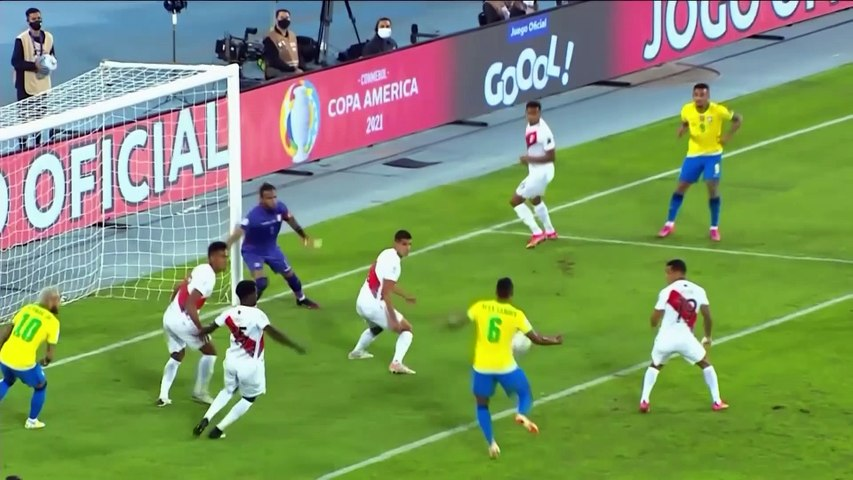 Neymar on target as Brazil defeat Peru 4-0 in Copa America Group B