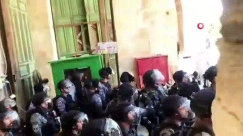 Terör devletinden Filistinlilere müdahale