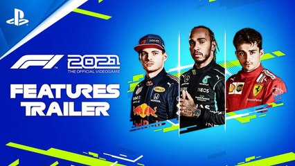 F1 2021 - Features Trailer | PS5, PS4