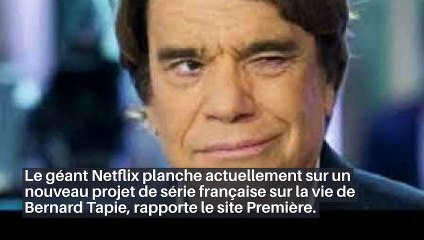 La plateforme Netflix va bientôt produire une nouvelle série française sur la vie de Bernard Tapie - Découvrez qui est l'acteur français qui incarnera l'homme d'affaires!_IN