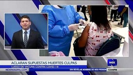 Aclaran supuestas muertes luego de colocarse la vacuna - Nex Noticias