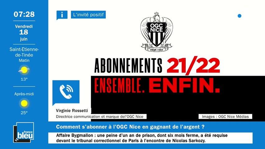 """Top départ de la campagne d'abonnement à l'OGC Nice pour la saison 2021-2022. Avec un """"programme pouvoir d'achat"""" parmi les offres."""