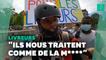 """""""Tu es payé pour ça"""": des livreurs se révoltent contre le mépris et les violences"""