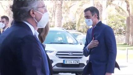 Pedro Sánchez agradece el apoyo de los empresarios catalanes