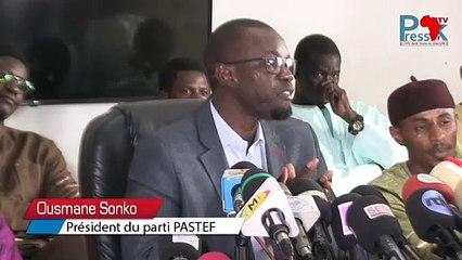 """Sonko rend Hommage aux populations de fouta et souhaiterait rencontrer le collectif """"Fouta Tampi"""""""
