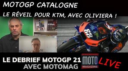 "8e Live ""Debrief MotoGP 2021"" de  Moto Magazine avec  toute la team !"