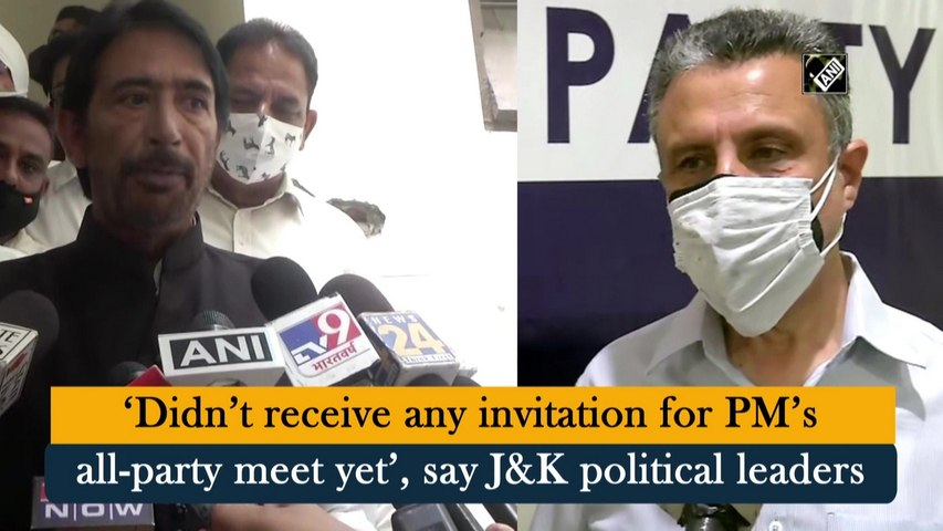 Didn't receive any invitation for PM's all-party meet yet, say J&K political leaders