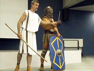 Des combats de gladiateurs au musée Sainte-Croix de Poitiers