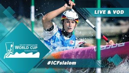 2021 ICF Canoe-Kayak Slalom World Cup Markkleeberg Germany / Canoe Finals