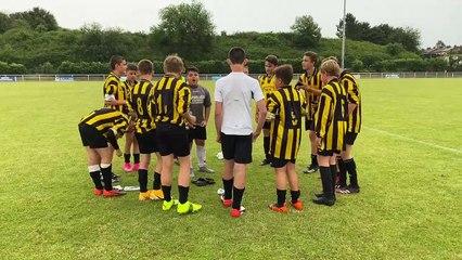 Célébration  du match du 19 juin 2021 Sc Aniche U14 - Lieux St Amand U15/U14 victoire 4-3