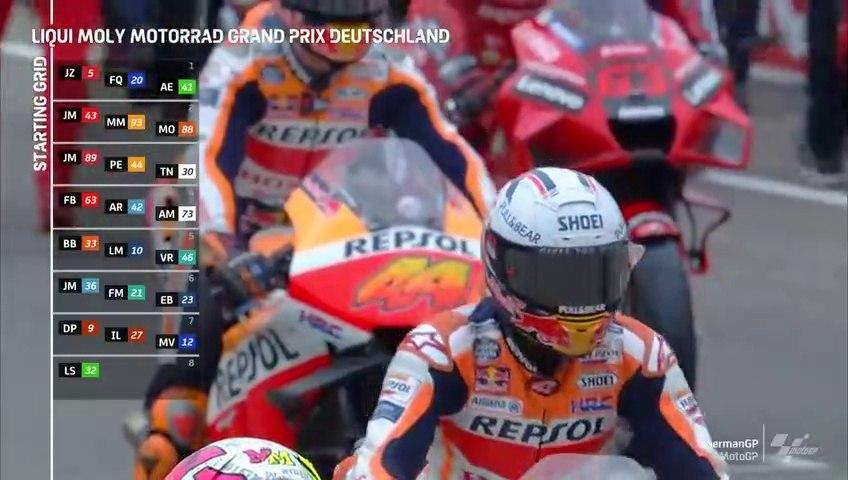 Full Race MotoGP Sachsenring Germany - MotoGP 2021
