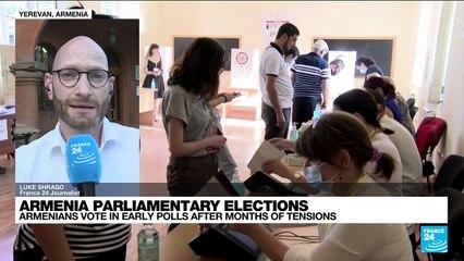 Polls close in Armenia parliamentary elections