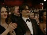Vanessa Paradis & Johnny Depp - Oscars 2008