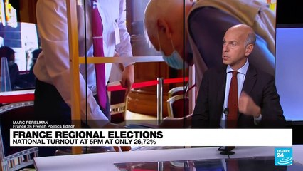 Analysis: Turnout low as France votes in first round of regional elections