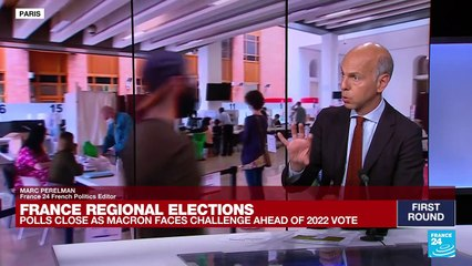 """France regional elections marred by """"historic low turnout"""""""