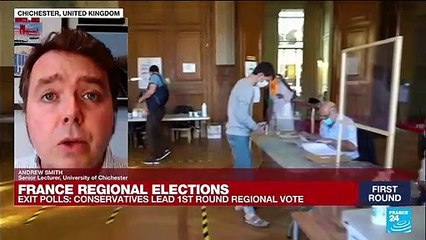 Exit polls: French conservatives lead 1st round regional vote