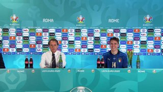 Mancini post Italy 1-0 Wales