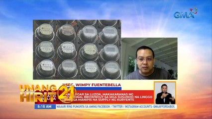Unang Hirit: Rotational brownout sa Luzon, mararanasan sa susunod na linggo?