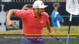 Breaking News - Jon Rahm wins U.S. Open for first major