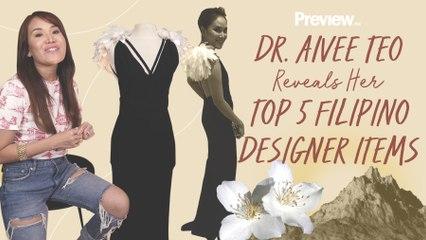 Dr. Aivee Teo Reveals Her Top 5 Favorite FIlipino Designer Items   Designer Favorites   PREVIEW