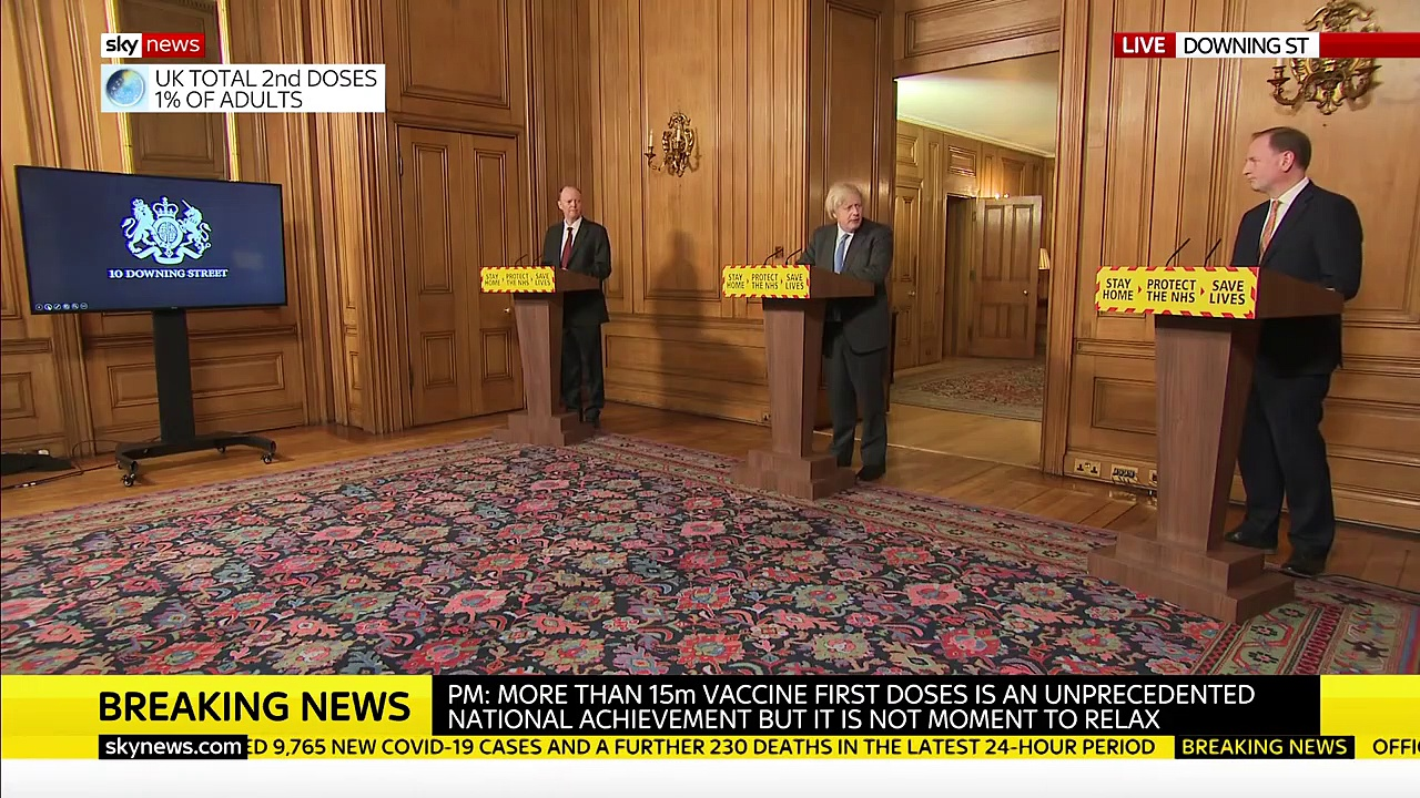 In Full: Pm Boris Johnson Holds Covid-19 News Briefing
