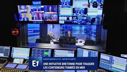 SeaTrackBox : l'entreprise bretonne qui traque les conteneurs tombés en mer