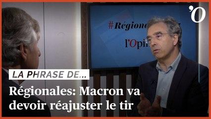 Régionales: «Au vu des résultats, Macron va devoir se concentrer sur le régalien» affirme Dominique Reynié (Fondapol)