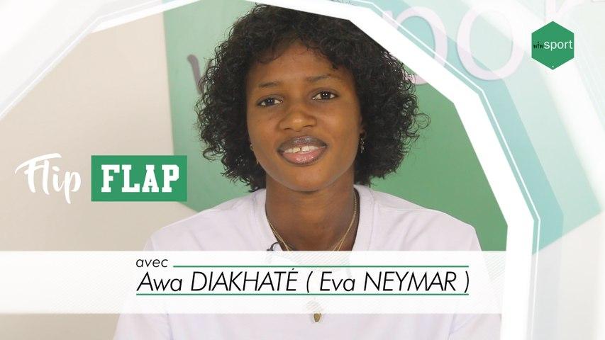 Flip Flap avec Awa Diakhaté ( Eva NEYMAR ) - «ma première paire de godasse ...»