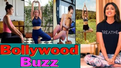 B-Town embraces asanas on International Yoga Day