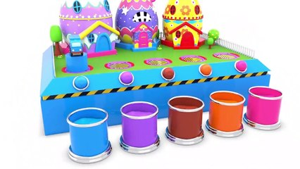 Learn colors and shapes collection for kids