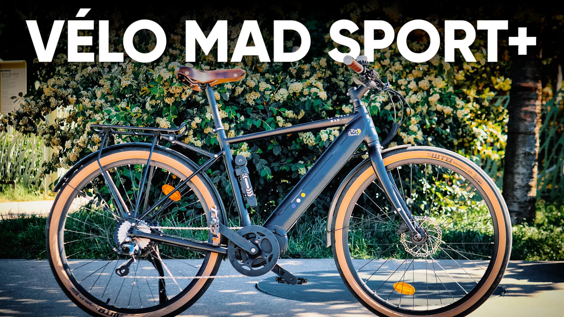 Test du Vélo Mad Sport+ : un très bon vélo électrique accessible