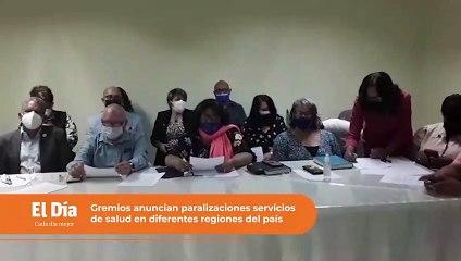 Gremios de salud amenazan con paralizar servicios