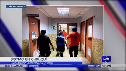 Se registra un sismo en la provincia de Chiriquí - Nex Noticias