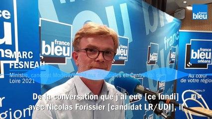 Régionales en Centre-Val de Loire : Marc Fesneau maintient sa liste au second tour