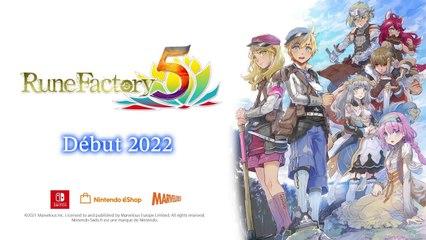 Rune Factory 5 - Trailer E3 2021