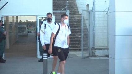 Eslovaquia llega a Sevilla para enfrentarse a la Selección Española en la Eurocopa 2020