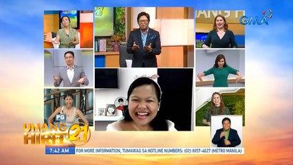 Unang Hirit: Cha-cha-rap na kwentuhan with Ryzza Mae Dizon!