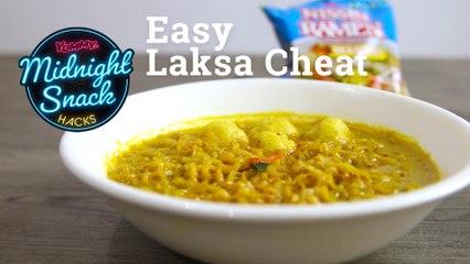 How To Make Instant Ramen Laksa   Yummy PH
