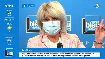 Olivier Richefou, invité de France Bleu Mayenne à 7h45