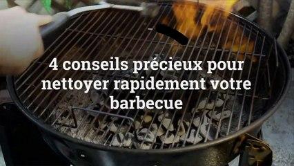 4 conseils précieux pour nettoyer rapidement votre barbecue