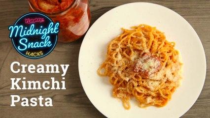 How To Make Creamy Kimchi Pasta   Yummy PH