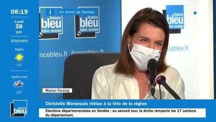 Elections régionales : large victoire de Christelle Morançais en Pays de la Loire