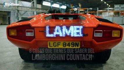 VïDEO: 8 COSAS que tienes que saber del Lamborghini Countach