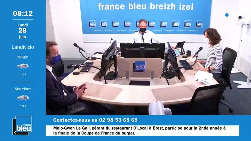 Après 23 ans à gauche, le conseil départemental du Finistère bascule à droite. Maël de Calan, élu à Roscoff.