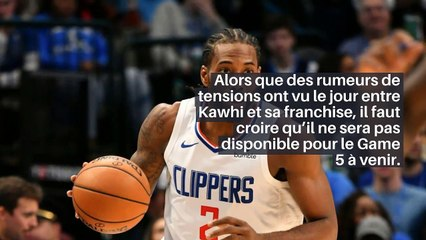 NBA – Coup de massue pour Kawhi Leonard ?