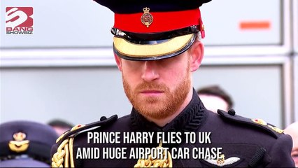 Prince Harry Airport Car Chase