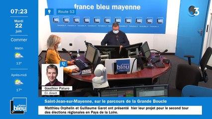 22/06/2021 - La matinale de France Bleu Mayenne