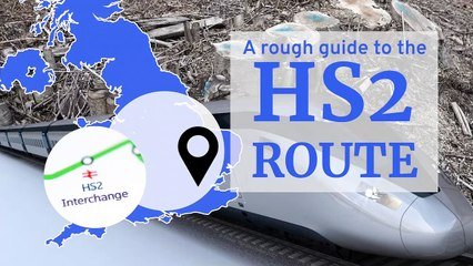 A rough guide to the HS2 route
